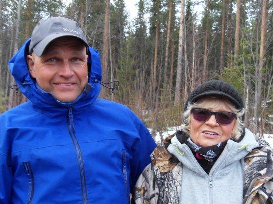 Fädbodträsket 14 april 2015 bästa herre och dam
